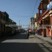 Empty Street in Cayes on Thursday, September 12, 2012 (Photo: Phildor Raynaud/RadioTV Caraibes).