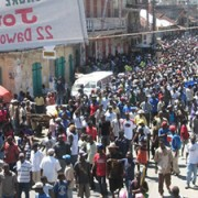 Thousands of protesters march in Cap Haitien on September 21, 2012 (Photo: HPN).