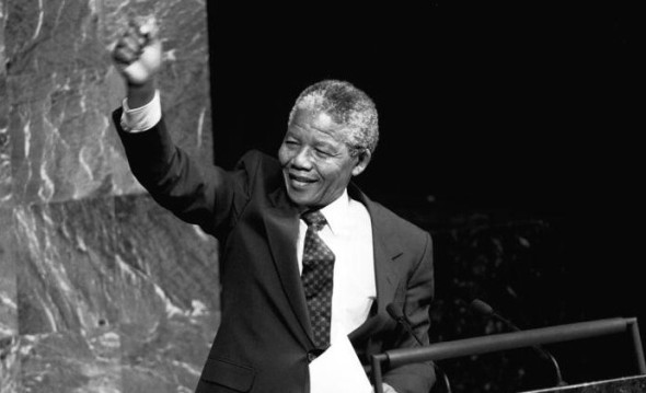 Nelson Mandela (ANC) Addresses Special Committee Against Apartheid