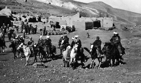 Afghanis on Horseback