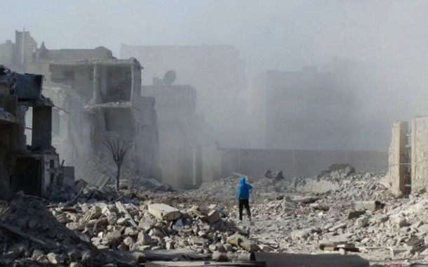 """No """"humans"""" land is what Syria has become on ASSad death militia"""