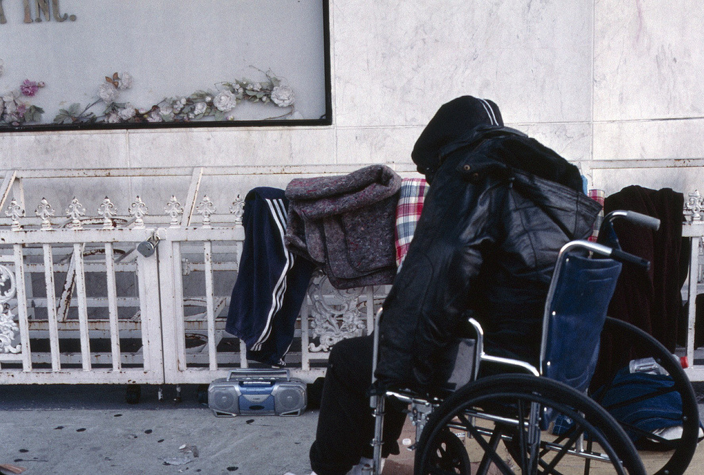 Homeless People and Technology